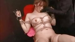 Asian Teen Roped And Made To Cum