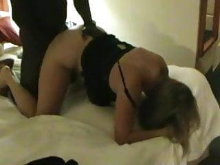 Mature blonde milf loves black meat