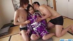 Saki Fujii acts nasty on man dick in - More at javHD.net