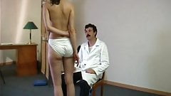 Innocent girl spanked stripped and humiliated by doctor