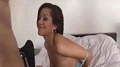 Super it`s very HOT  Latina blows his mind and takes GREAT facial