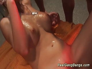 Preview 6 of real german gangbang party orgy