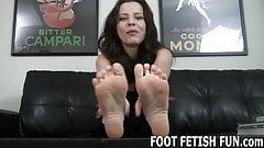 My feet will make your prick diamond hard's Thumb