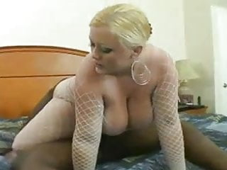 Chubby Blonde Wife Loves Black Cock