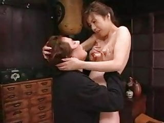 Japanese Mom Seduces Boy
