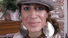 Lip piercings girl with cute