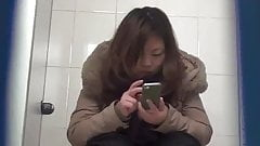 Chinese toilet peeing 9