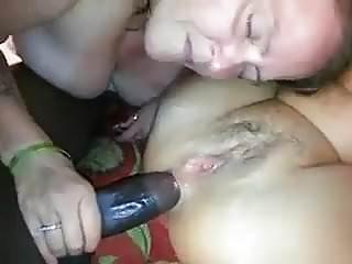 Two naughty sluts enjoy sharing a BBC