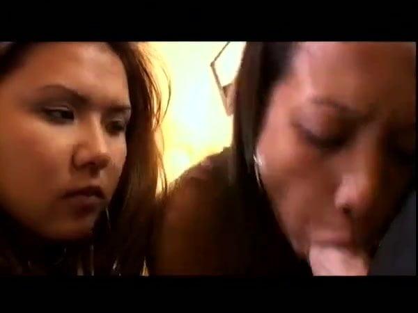 Loni punoni and kylie rey take turns sucking cock - 3 part 4