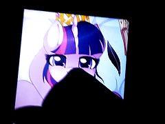 Twilight Sparkle Cum Tribute 2 - SOP #2