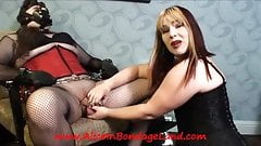 Long Distance Chastity Keyholding Tease Denial Sissy Lesson
