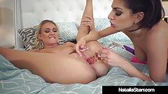 Scissor Fuckers Natalia Starr & Darcie Dolce Tongue Cunts!