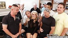 Big Tit Blonde Harper Wild Suck and Gang Fuck