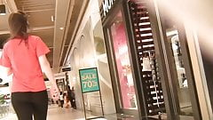 Teen Shopping Blk Ctru Tights n Blk Thong