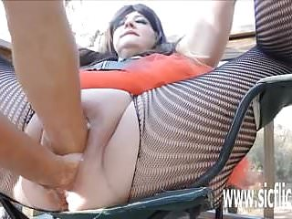XXL double fisting and insertions for BBW huge pussy