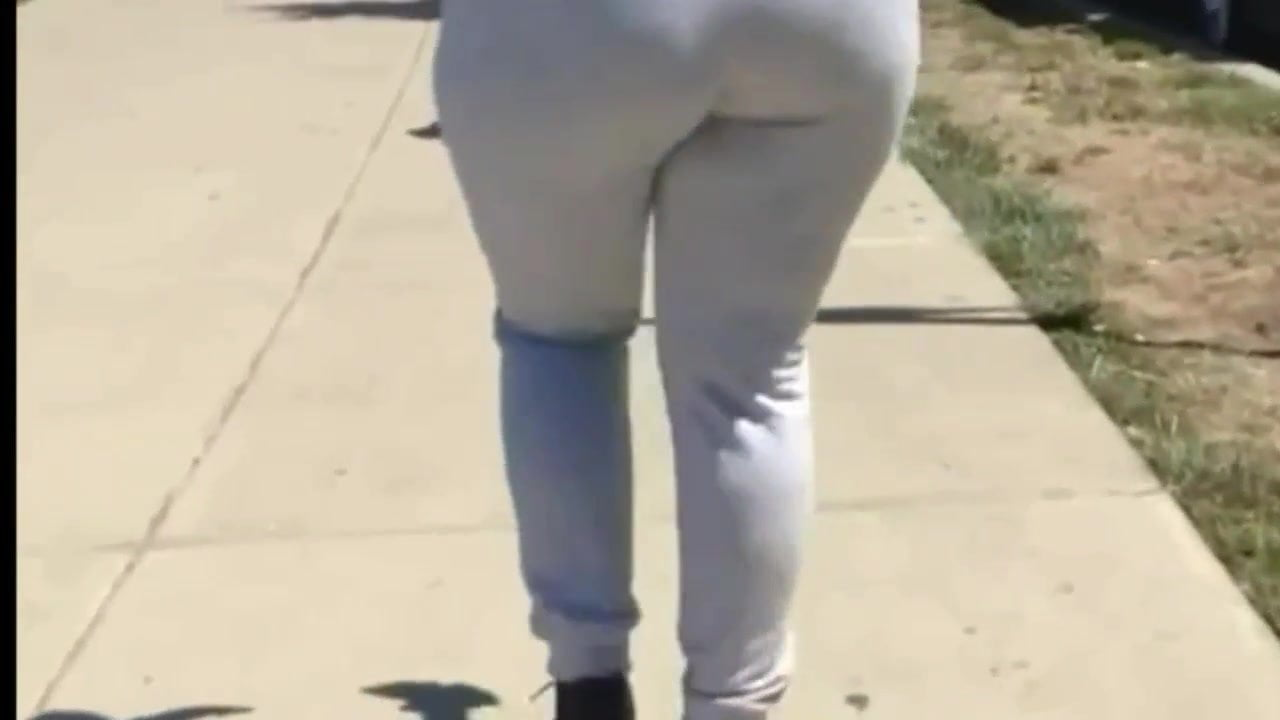 Bbw phat booty candid (nutbooty)