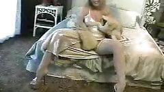 fur on bed