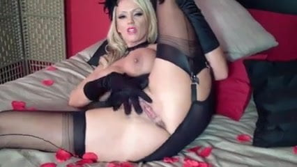 Sweet krissy spreading her pussy