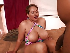 Juicy bbw black momma with big tits Thumbnail