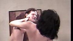 Brunette slut getting her pussy fucked