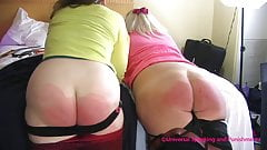 Two Sorority Girls Spanked - Preview