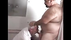 Toilet Playing with a Mature Daddy
