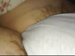 long pubic hair sticking out of wifes white cotton panties