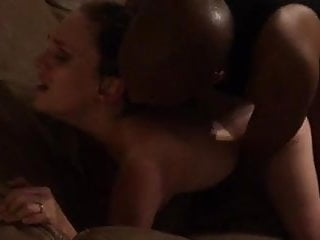 Black man fucks gorgeous white wife while husband films