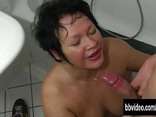 Fat german milf gets nailed