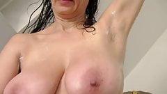 Busty Tina - The shaving
