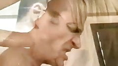 Blonde Twins Anal Fucked In The Bath-Tub -L1390-
