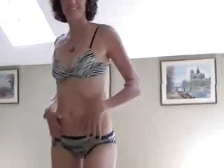 Strip bikini cute wife