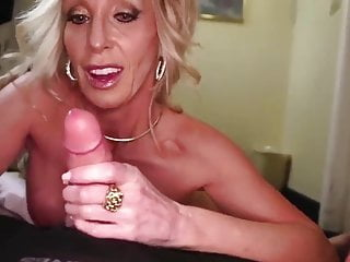 Gorgeous Stepmom Jerks Off Son On His 18th Birthday