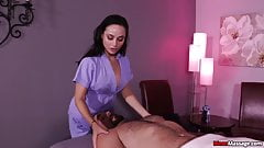 Russian lady cock treatment