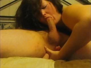 sensual blowjob and prostate stimulation