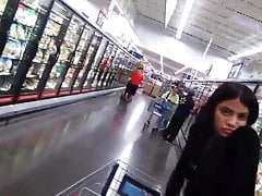 Latina At Grocery Store