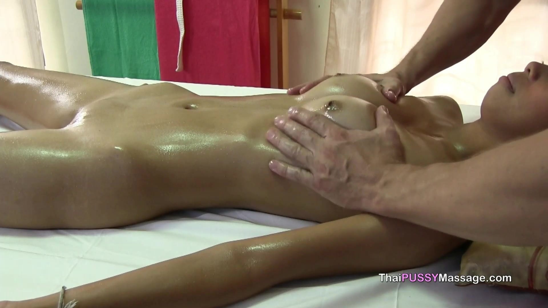 younger thai woman receives blissful ending oil therapeutic massage