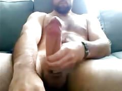 Gorgeous Str8 Guy with Huge Dick & Balls cums #127