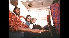 Vintage stewardess daydream