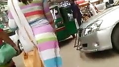Bengali Girl's Street Ass