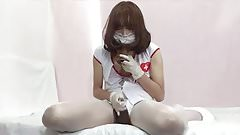 Nurse PP Part 3 Bonus (Crossdresser with Toy)