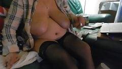 les gros seins de ma truie