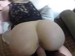 A Girl With An Incredible HOT Big Ass