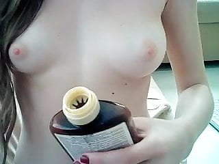Young GirlPlaying With Dildo
