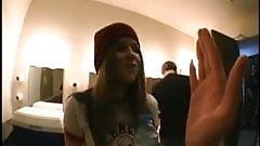 Avril Lavigne - Nice Tits in black Bra
