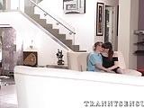Beautiful trap Natalie Mars seduces big cocked Chad Diamond