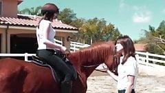 lesbian holidays on riding school