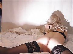 shemale with french knickers and a butt plug xx