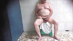 big balls in sauna