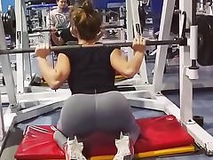 Sexy Serbian bitch Tamara working out 5